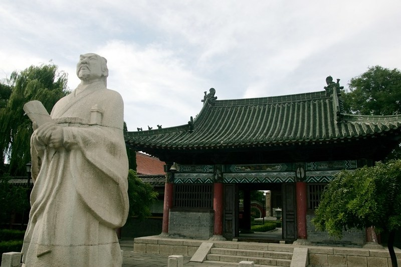 This is the hometown of Sun Wu, a legendary military strategist