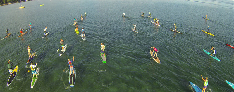 Longest inland paddleboard race in the world set for Tahoe Vista Paddlefest September 8 - 10, 2017 on Lake Tahoe's North Shore.