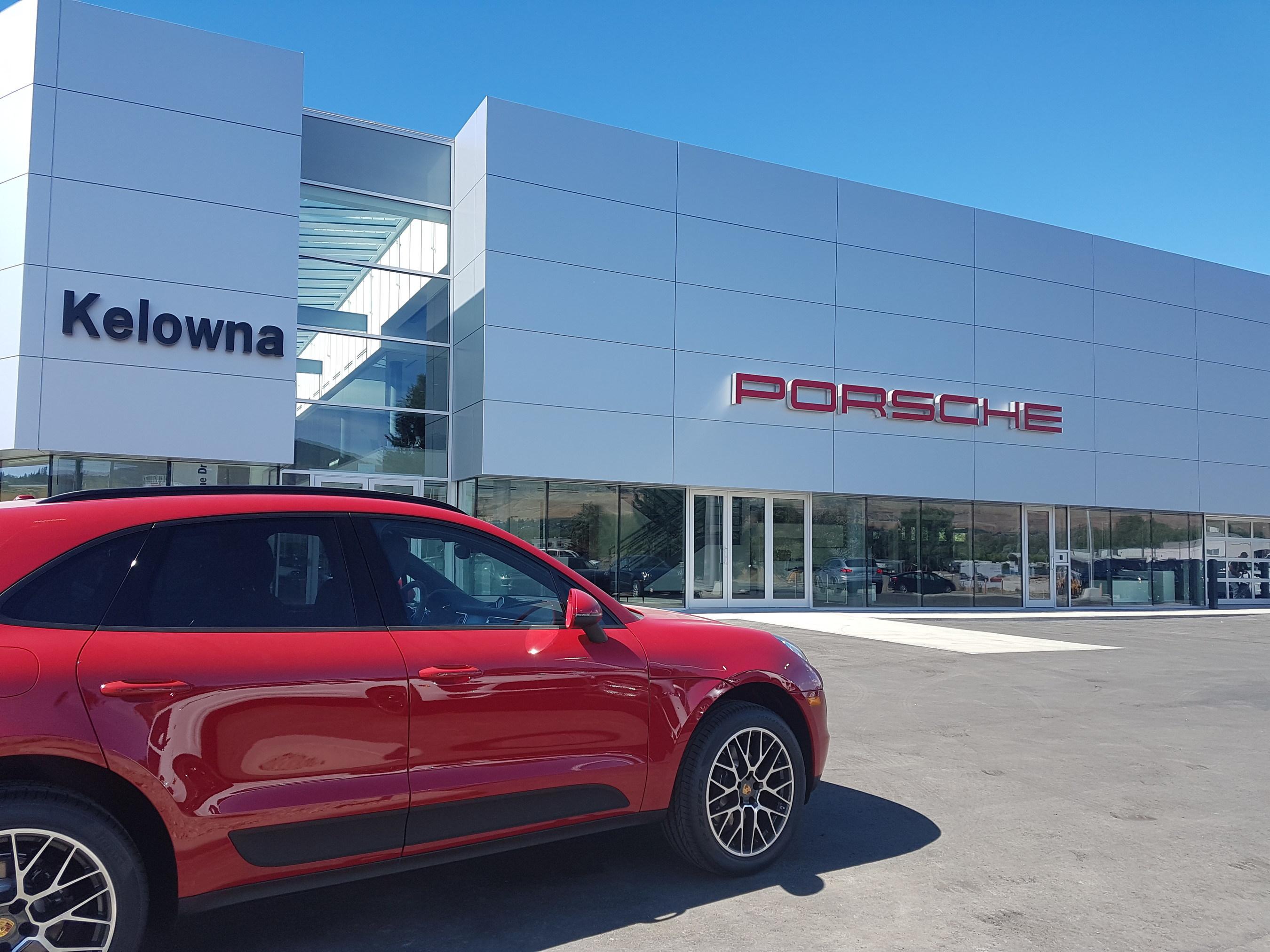Porsche Centre Kelowna Opens Its Doors