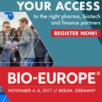Global Biopharma to Convene in Berlin for BIO-Europe® 2017