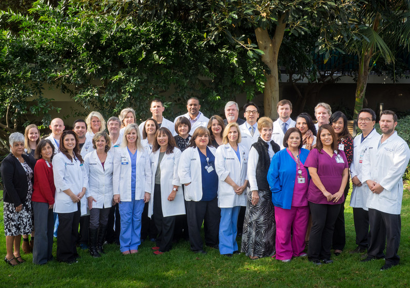 The Radiation Oncology Team at the Ridley-Tree Cancer Center of Santa Barbara
