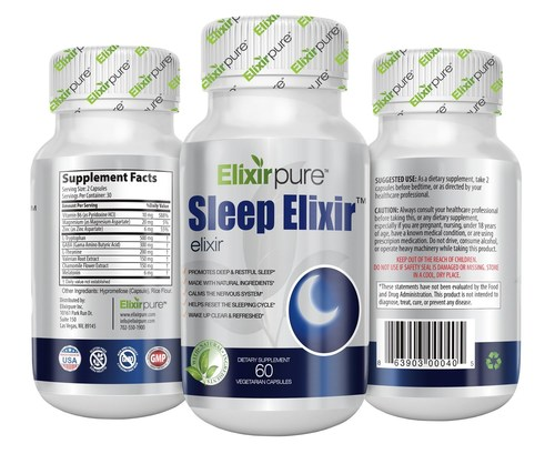 Sleep Elixir Natural Sleep Aid