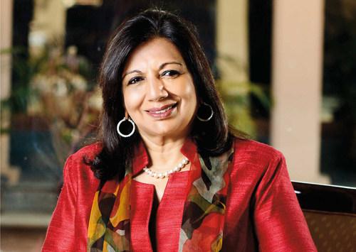 Biocon Chairperson and Managing Director Kiran Mazumdar-Shaw