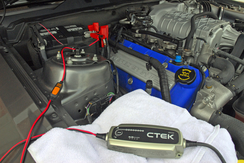 how to use ctek mxs 5.00 battery charger