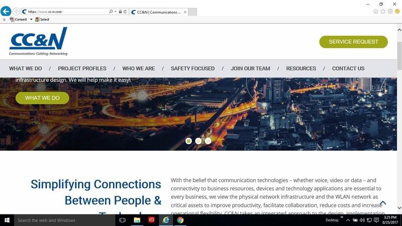 cc-n.com Homepage