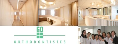 Go Orthodontistes officially opens its doors in Brossard's Quartier Dix30 on August 31, 2017 (CNW Group/Go Orthodontistes)
