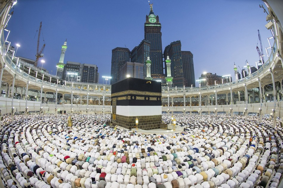 The Great Mosque of Makkah, the largest mosque in the world (PRNewsfoto/Ministry of Culture Saudi Arabia)