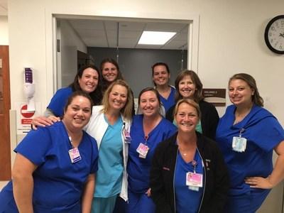 Pictured Left to Right; Evelyn Galvan, Megan Villanueva, Denise Luker, Debbie Schiller, Amber Berry, Dr. Leighanne Glazener, Amber Brown, Jessica Thomas