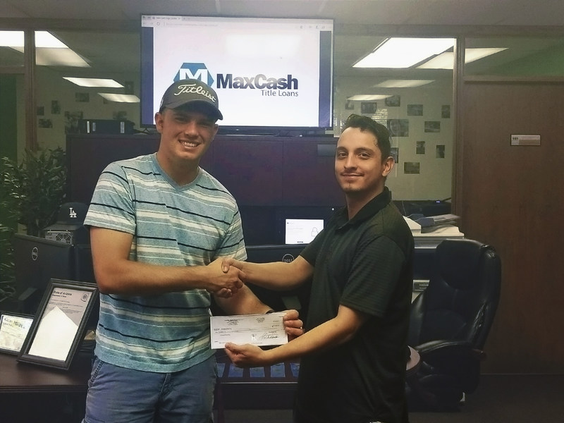 ASU student is awarded $1500 for exceptional writing concerning financial products.