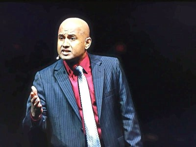 Manoj Vasudevan, Toastmasters' 2017 World Champion of Public Speaking®