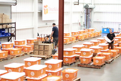 Direct Relief's specially designed hurricane preparedness packs, housed in durable, water-resistant tubs for easy transport, contain medical supplies and Rx medications that have been identified as essential in mass evacuation situations.  Direct Relief prepositioned the packs three months ago at health centers, including 11 in Texas. They now are being used in the emergency caused by Hurricane Harvey.