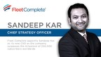 Sandeep Kar to spearhead Fleet Complete's ambitious global blueprint as the new Chief Strategy Officer