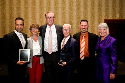 Canada's AFCC Automotive Fuel Cell Cooperation Corp. was named the winner of the 2017 ICF International Prism Award during an August 25, 2017, ceremony in Washington, D.C., USA.