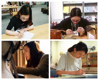 From top left: Deng Yuan Yuan, Yu Jie Yong, Yao Dan, Lorria Lai
