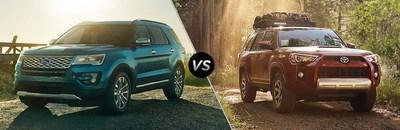 Ford Edge Vs  Jeep Grand Cherokee And  Ford Explorer Vs