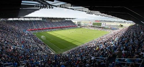 Avaya Stadium in San Jose, CA.
