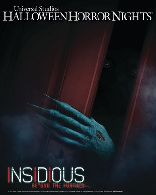 "Universal Studios Hollywood Unleashes ""Insidious: Beyond the Further,"" an All-New Terrifying ""Halloween Horror Nights"" Maze and Living Trailer for Universal Pictures and Sony Pictures' Stage 6 Films Insidious: Chapter 4."
