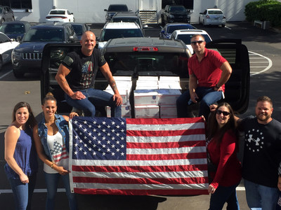 """Carrington Mortgage Services Associates support The Carrington Charitable Foundation's """"Boxes for Our Troops Challenge"""" benefiting active U.S. military serving abroad."""