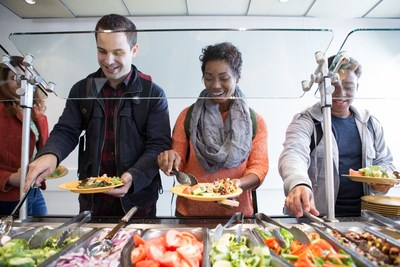 Aramark is welcoming students back to school with new plant-based menu items and solutions to assist students with dietary restrictions or those following special diets.