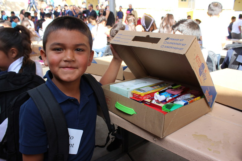 Last year, Ashford University donated $10,000 to help with the purchase of backpacks and school supplies for 466 students at Horton Elementary School in San Diego.