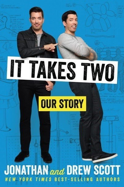 Houghton Mifflin Harcourt has released an exclusive excerpt from Jonathan and Drew Scott's highly anticipated memoir, It Takes Two: Our Story, out on Sept. 5, 2017.