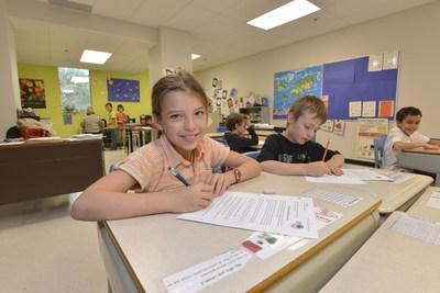 L'École Vanguard en action! (Groupe CNW/Fondation Vanguard)