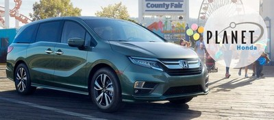 The 2018 Honda Odyssey Is Now Available From Planet Honda, Located At 15701  West Colfax