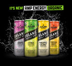 AMP ENERGY® Reimagines Energy with Shift to Organic Energy Drinks
