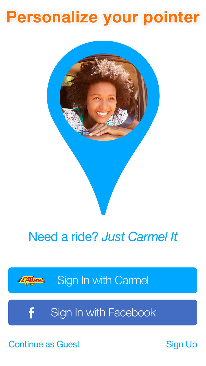 Download the NEW Carmel App and Personalize Your Pointer