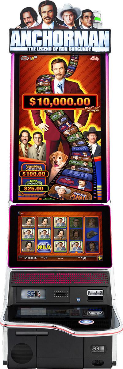 Scientific Games Anchorman Slots