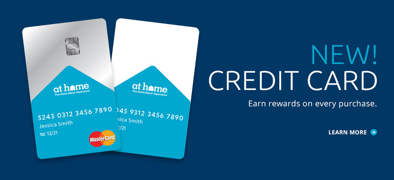 At Home Group Inc. unveiled new branded credit cards as well as a new Insider Perks loyalty program to offer its customers exclusive shopping benefits and rewards.
