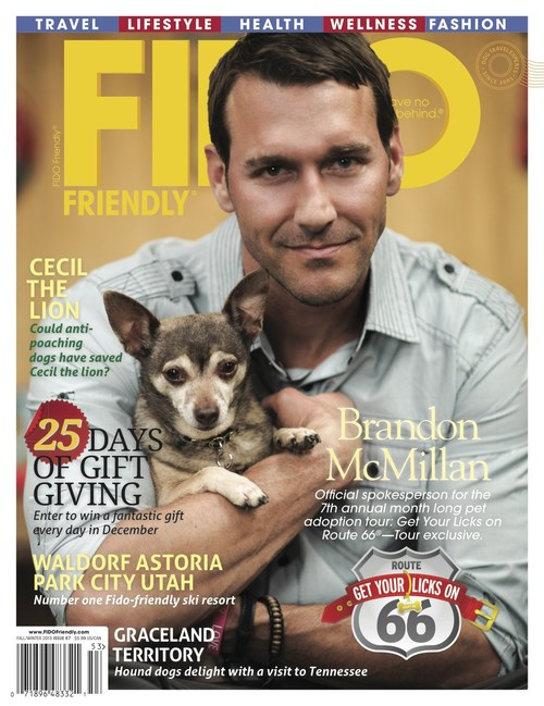 Get Your Licks on Route 66® Spokesperson and Emmy Award-Winning TV Host of the weekly CBS series, Lucky Dog, Brandon McMillan, will be at the East Valley Animal Shelter on September 9 from 11-1 signing autographs and answering questions for new pet parents.