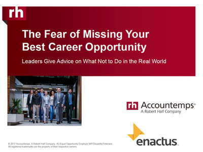 The Fear of Missing Your Best Career Opportunity