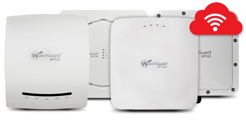 The AP 120, 320, 322 and 420 from WatchGuard Technologies