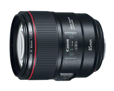 Canon Unveils the 85mm f/1.4L IS, Its First 85mm with Stabilization