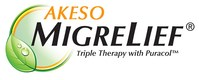 Neurologist Recommended Migraine Supplements (PRNewsfoto/Akeso Health Sciences)