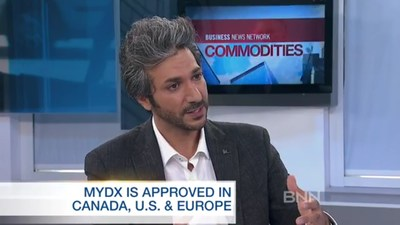 CEO Daniel Yazbeck speaks to BNN about MyDx and its current and upcoming products. http://www.bnn.ca/commodities/video/mydx-analyzes-what-s-in-your-marijuana~1195357