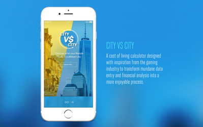 City Vs City mobile app is the first cost of living calculator that can compare the cost of living in one city versus another that accounts for how expensive your neighborhood is relative to others in your city, and calculates of ALL the major taxes you pay. It was also designed with inspiration from the gaming industry to make mundane financial comparisons a more enjoyable experience.