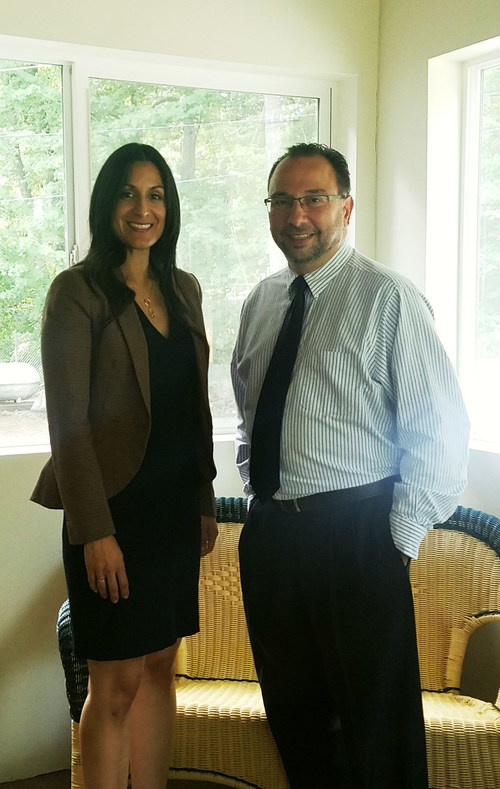 Mobile Beacon Welcomes Program Director, Cristina Graham, and Director of Operations and Administration Angelo Miccoli.