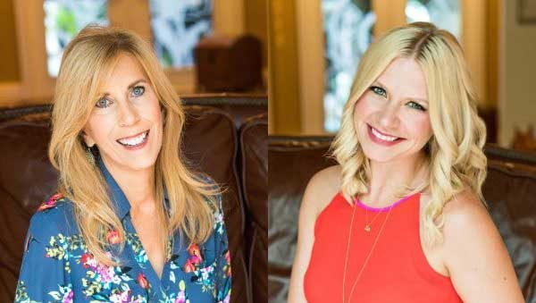 (Pictured l to r): Darlene Brock, Founder TheGritandGraceProject.org and Co Host of This Grit and Grace Life and Julie Graham, Co-Host This Grit and Grace Life Podcast