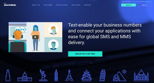 Aerialink's new corporate website provides major content enhancements.