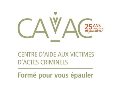 Logo : Centre d'aide aux victimes d'actes criminels (Groupe CNW/Réseau des Centres d'aide aux victimes d'actes criminels (CAVAC))