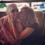 Sarah and Leah in 2015 when Sarah was in treatment