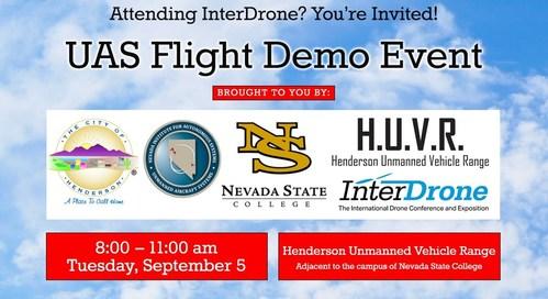 UAS Flight Demo Event Invite