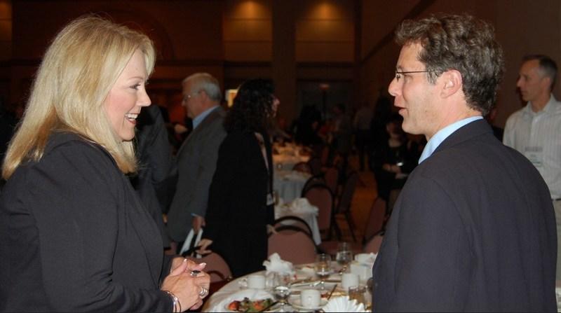 Vicki speaking with Nick Gaehde, President, Lexia Learning