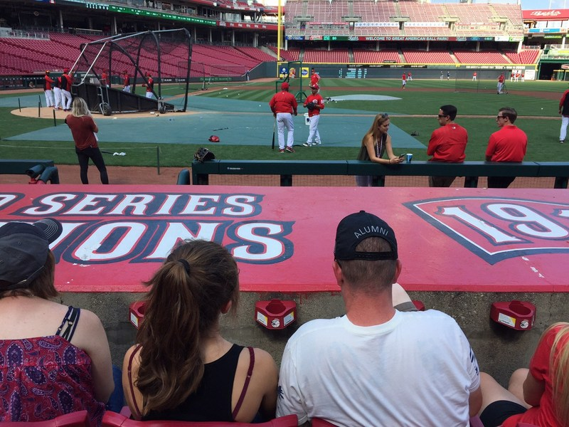 The Cincinnati Reds recently hosted a group of warriors served by Wounded Warrior Project for a night of baseball and family fun.