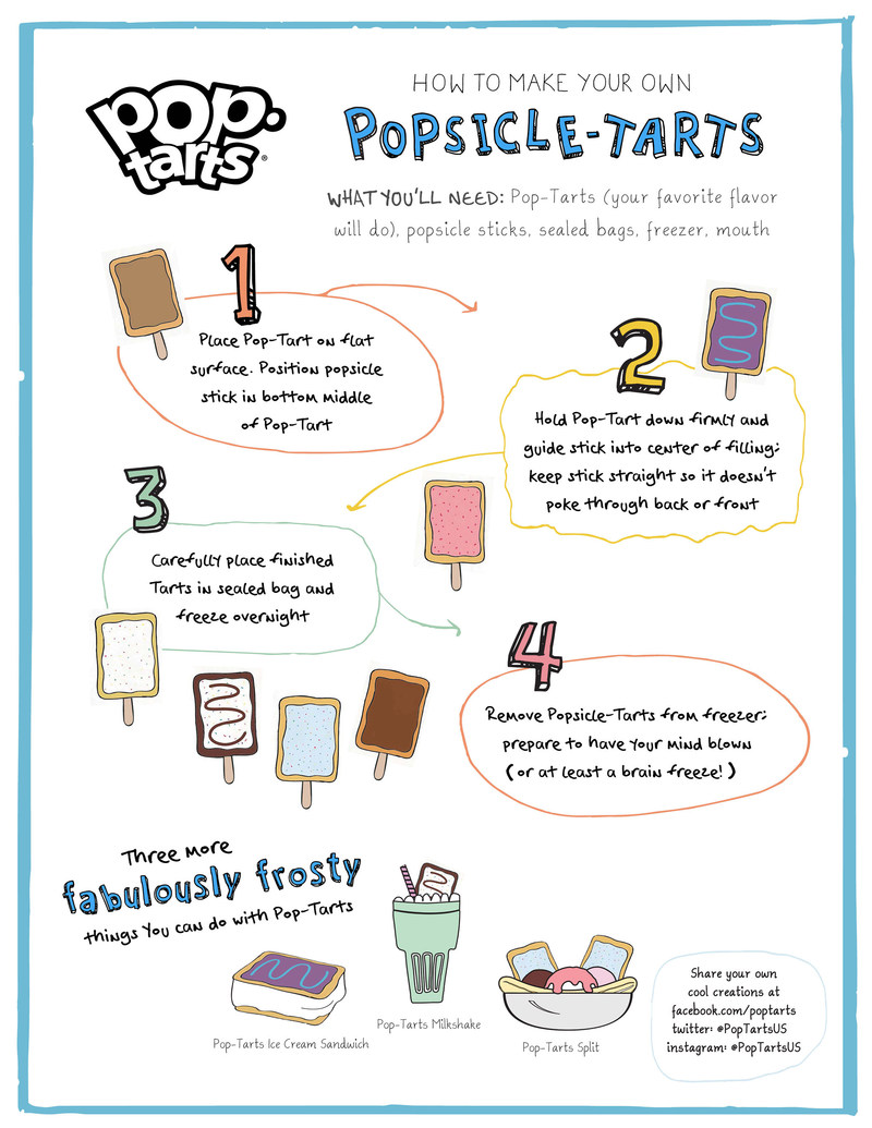 Make your own Popsicle-Tarts in just four freezingly-fantastic steps!