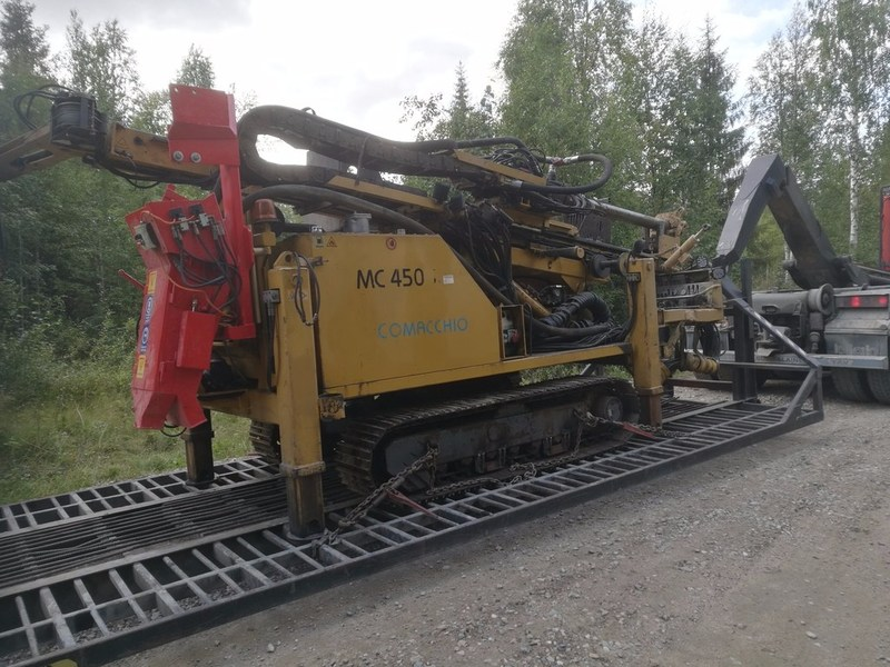 Figure 3: RC Drilling rig mobilized to site at Rompas (CNW Group/Mawson Resources Ltd.)