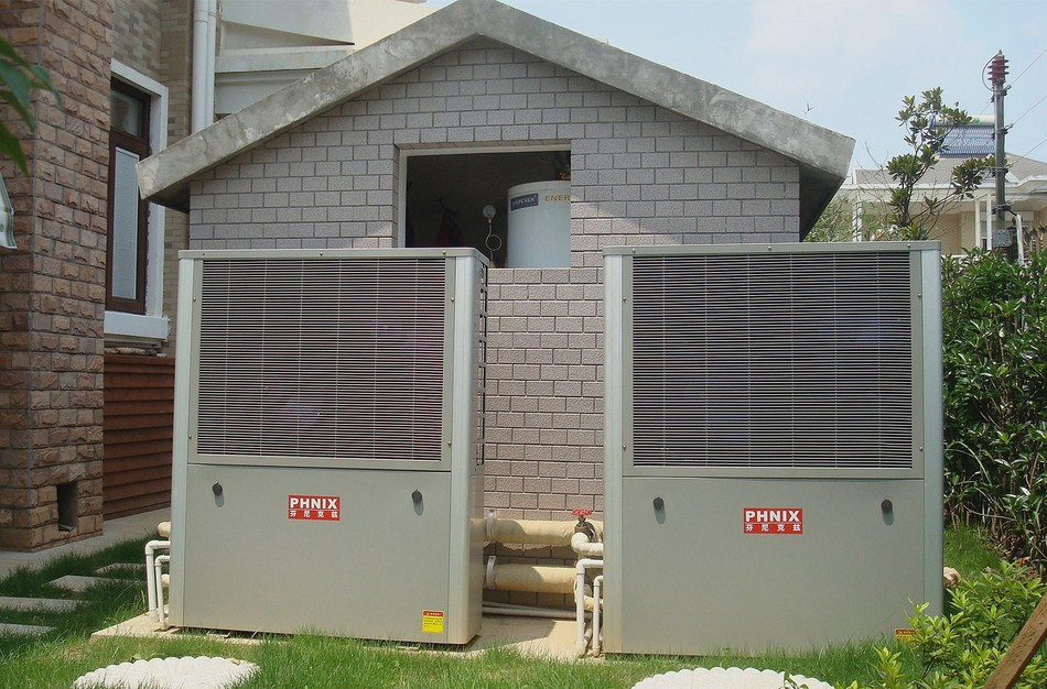 The picture shows one of the PHNIX heat pump applications in Coal-to-Electricity project.