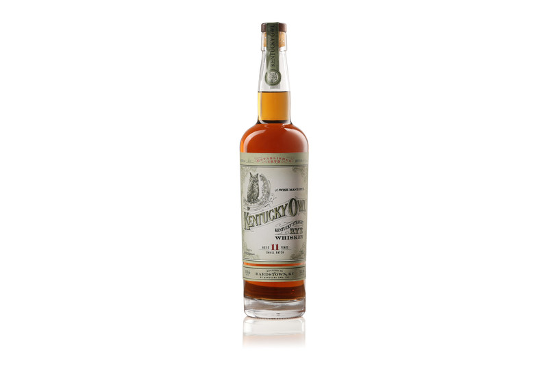 Kentucky Owl is entering the rye category with an 11-year old Kentucky straight rye whiskey, available in limited quantities in 25 U.S. markets beginning this September.